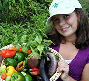 Katie Stagliano, 2010 Garden Crusader