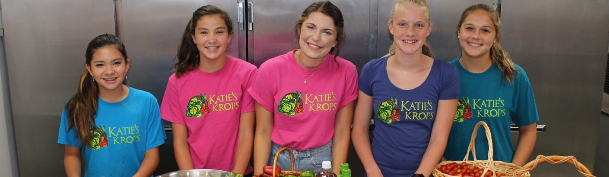 Mark Your Calendar for the August Katie's Krops Dinner